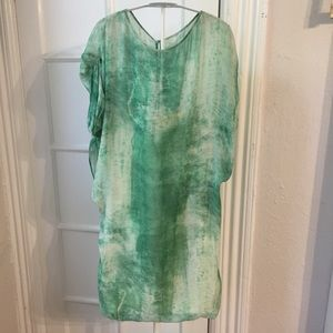 Rare Acne Judith Maltinto emerald dress AS IS